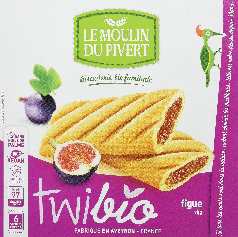 Le Moulin Du Pivert Delicia Higos - Paquete de 12 x 150 gr - Total: 1800 gr: Amazon.es: Alimentación y bebidas
