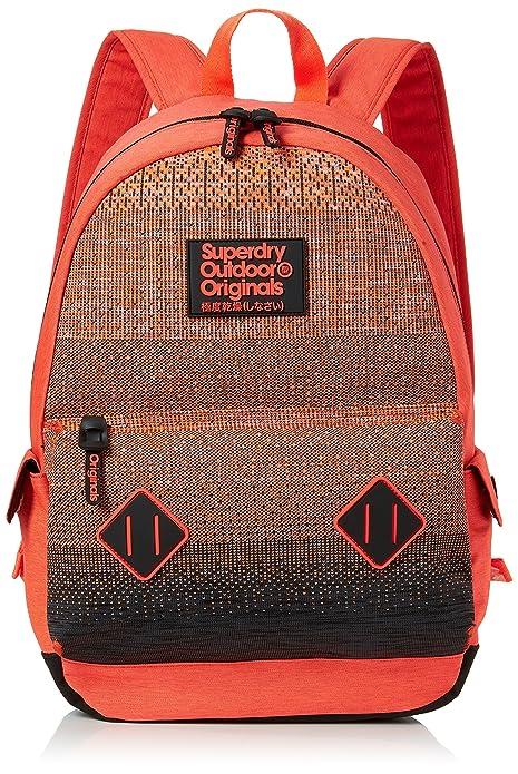 Superdry - Knittermontana, Mochilas Hombre, Naranja (Orange), 30x45x15 cm (W x H L): Amazon.es: Zapatos y complementos