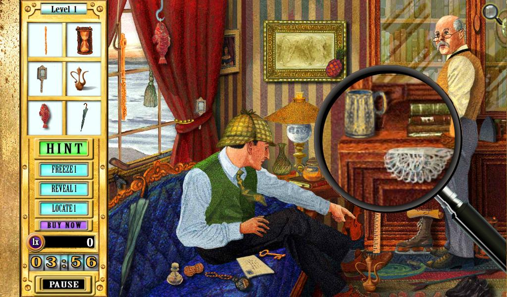 Play Sherlock Holmes Games Online