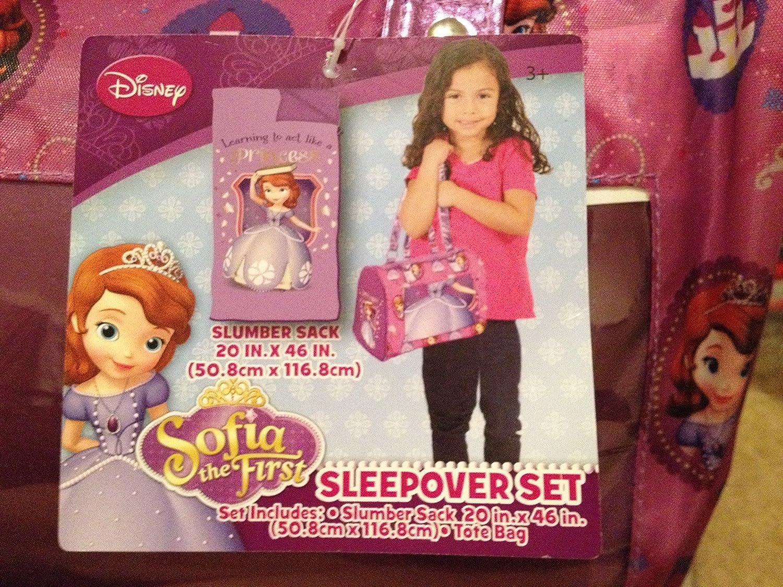 Disney Sofia the First Sleepover Set B00PXS352Y