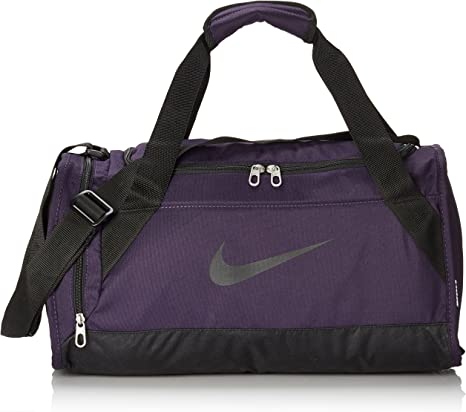 patrulla Pantano acerca de  Nike Brasilia 6 Extra-Small Duffel Purple Purple Dynasty/Black Size:50 x 25  x 5 cm, 5 Litres: Amazon.co.uk: Sports & Outdoors