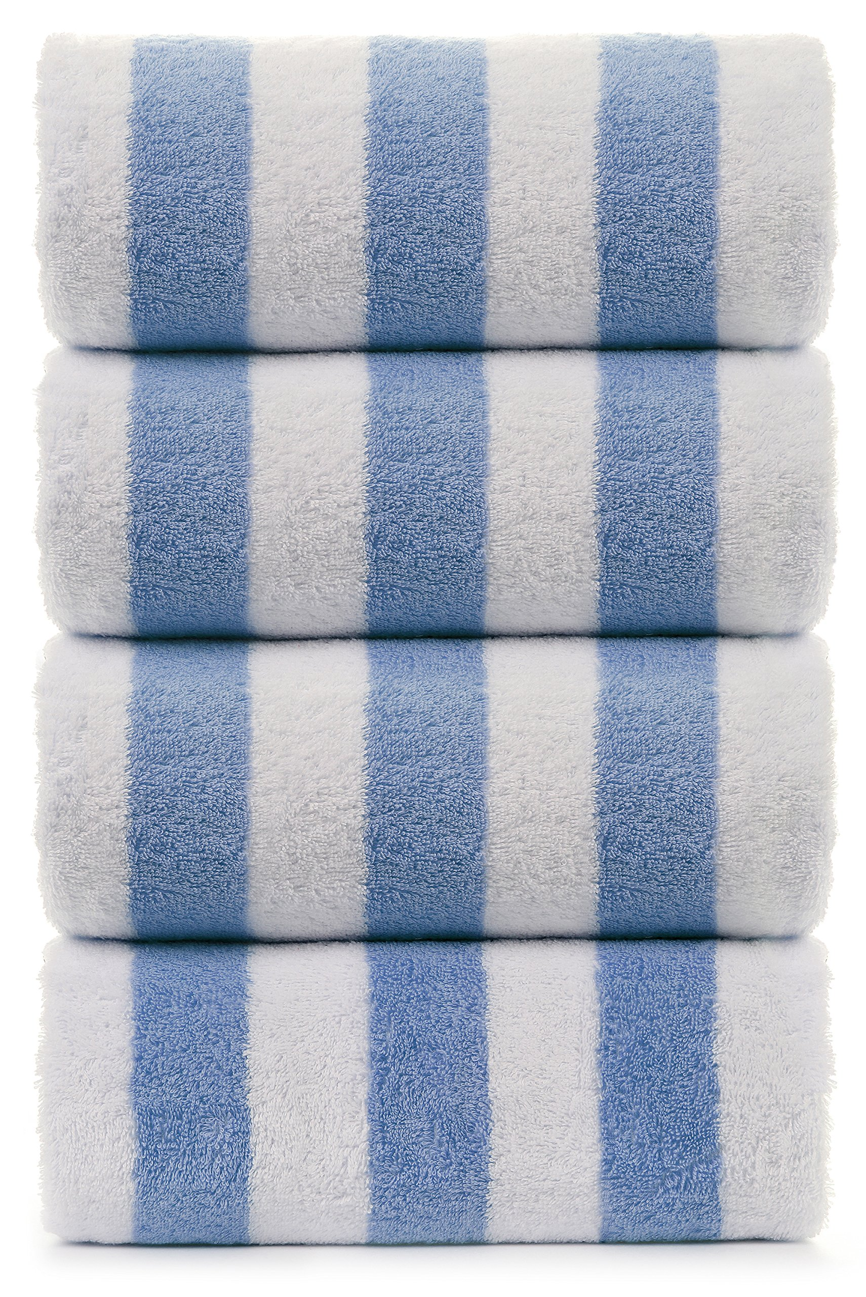 Turkuoise Turkish Towel - large stripe