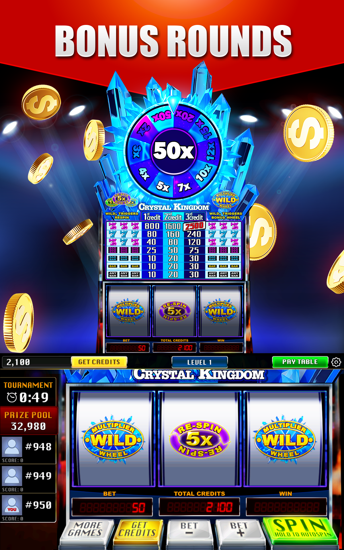 Bonus Slot Machines Games