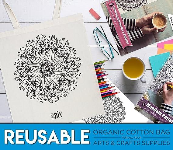 3diy Mandala & citas de motivación para colorear libro para adultos ...