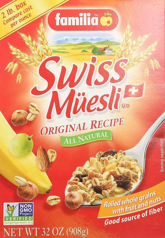 Familia Muesli Swiss Original (3x32 oz.)