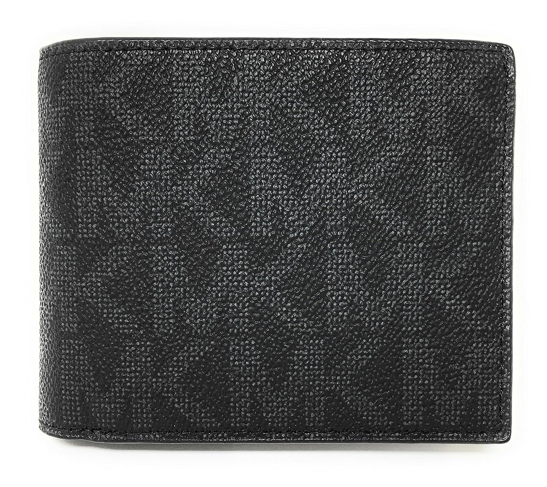 774c9d99e558 Amazon.com  Michael Kors Jet Set Black Men s Billfold W Passcase Wallet  (36H7LMNF6B)  Shoes