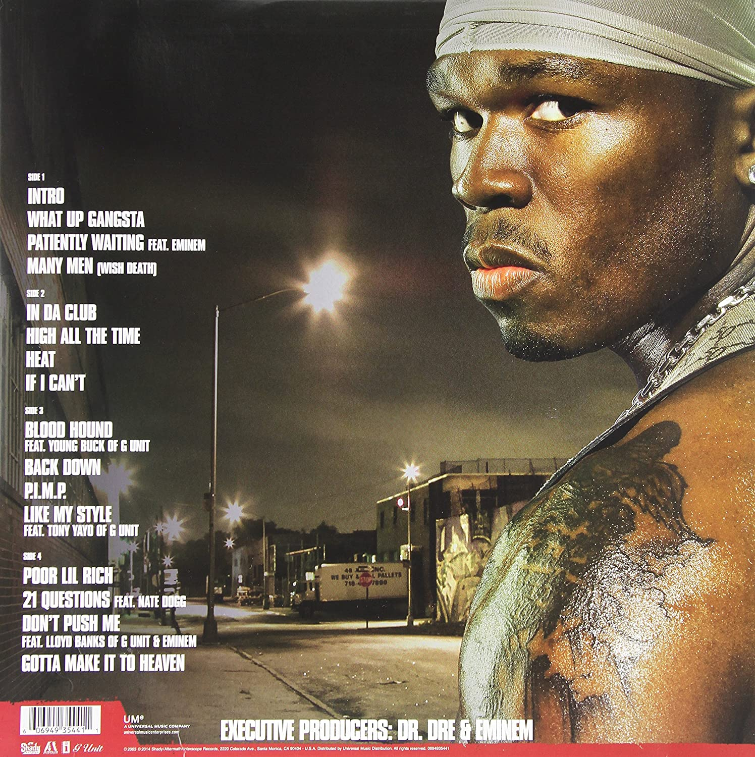 50 Cent - Get Rich or Die Tryin' [Vinyl] - Amazon.com Music