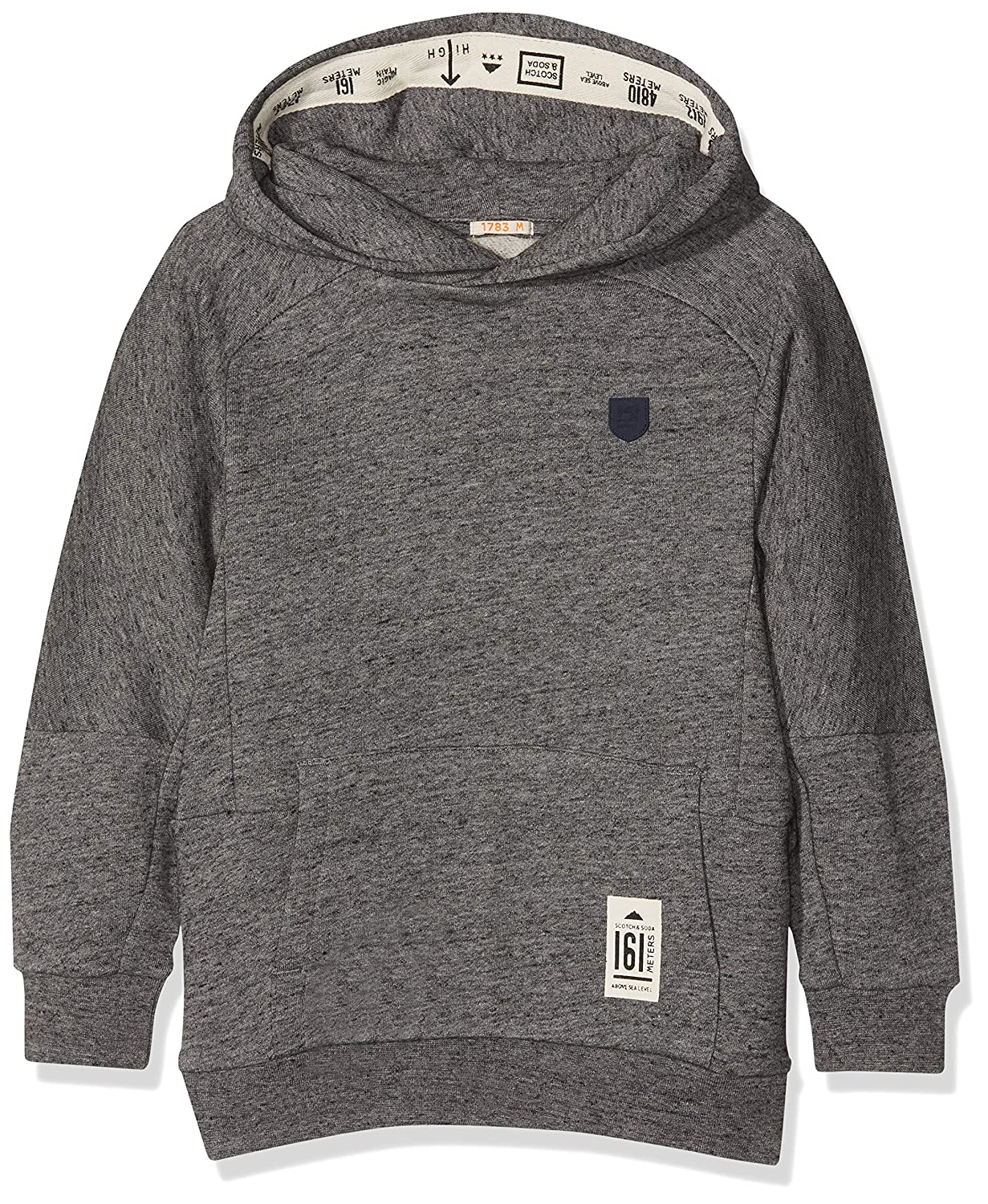 Scotch & Soda Jungen Kapuzenpullover Oversized Hoody in Poly-Cotton Quality Scotch & Soda Shrunk 145996