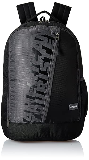 American Tourister 28 Ltrs Black Casual Backpack (AMT TWIST BACKPACK 01 - BLACK)-Best-Popular-Product