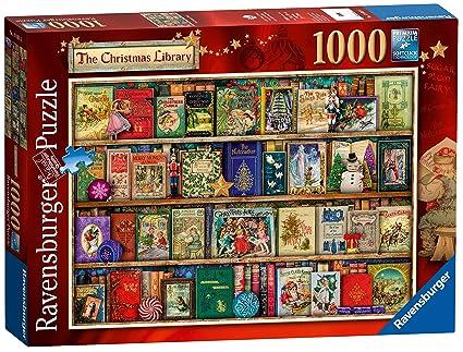 ravensburger the christmas library 1000pc jigsaw puzzle - Ravensburger Christmas Puzzles