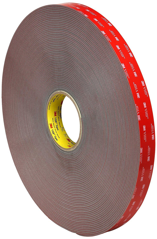 3M VHB Tape 4991, 1 in Width x 5 yd Length (1 Roll)
