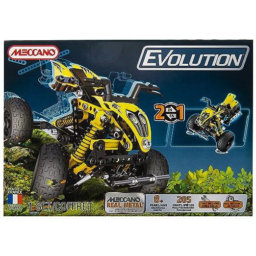 24 opinioni per Meccano 6023682- Set 2-in-1 Evolution Atv Quad, 460 pz.