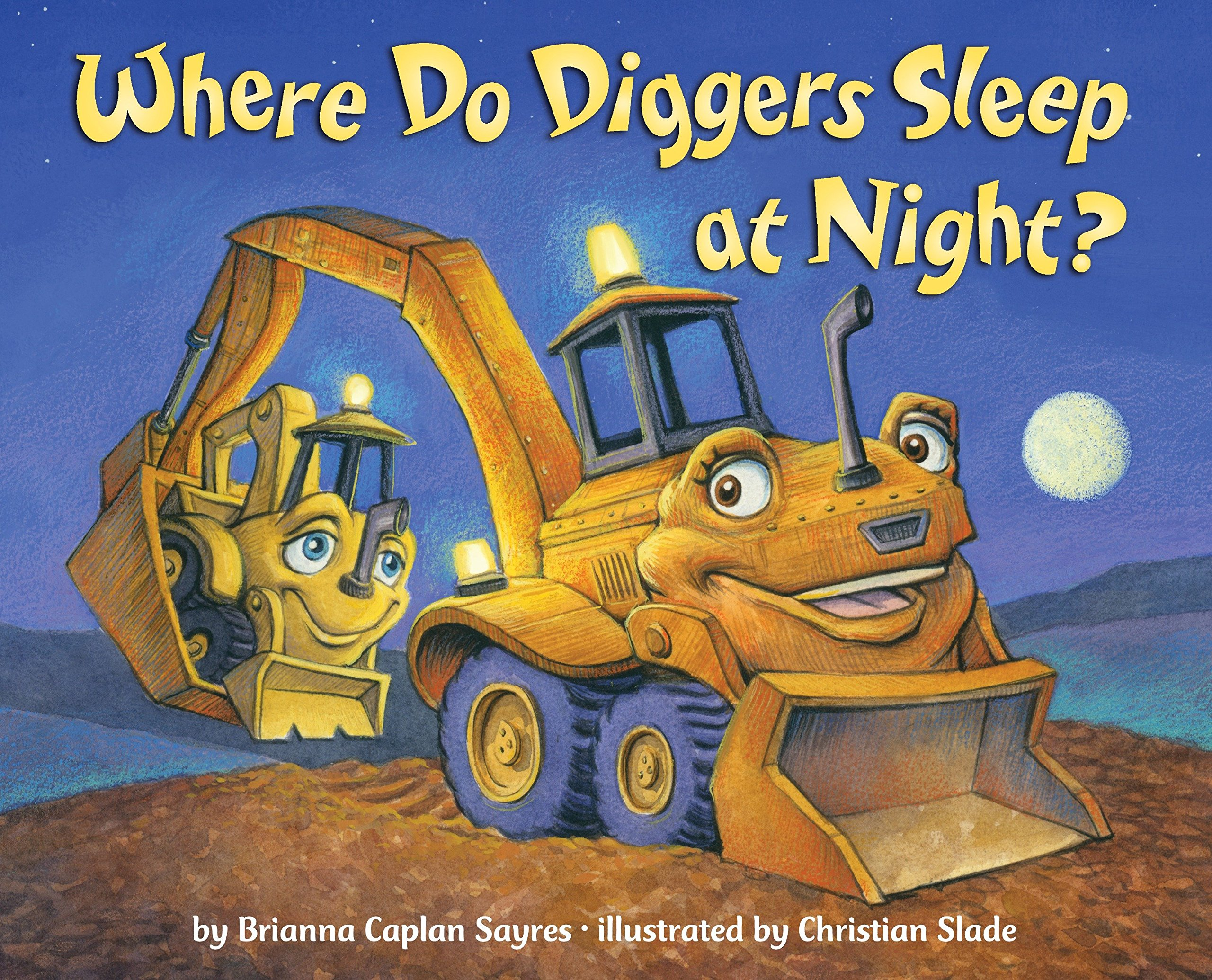 Where Do Diggers Sleep at Night? by Random House Books for Young Readers (Image #3)