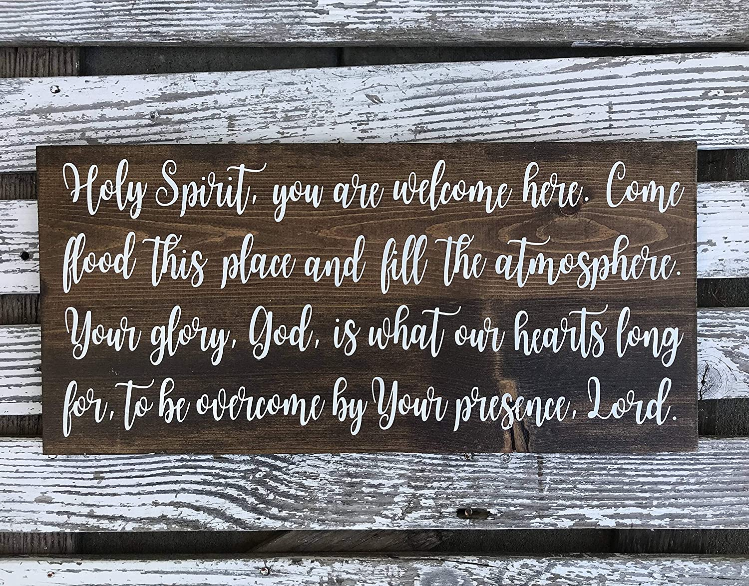 Amazon com: Larmai Holy Spirit You are Welcome Here