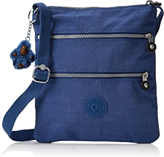 Kipling New Rizzi, Women's Cross-Body Bag, Blau (Jazzy Blue), 2.5x21x23 cm (B x H T)