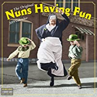 Nuns Having Fun Wall Calendar 2019