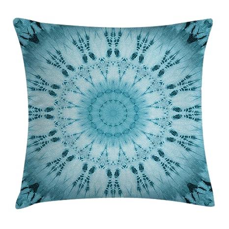 Amazon.com: Ambesonne - Funda de cojín con diseño de teñido ...