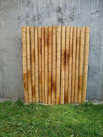 Sichtschutz Bambus amazon de sichtschutz gartenzaun aus bambus gong