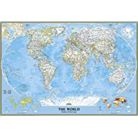 World Classic, Laminated: Wall Maps World