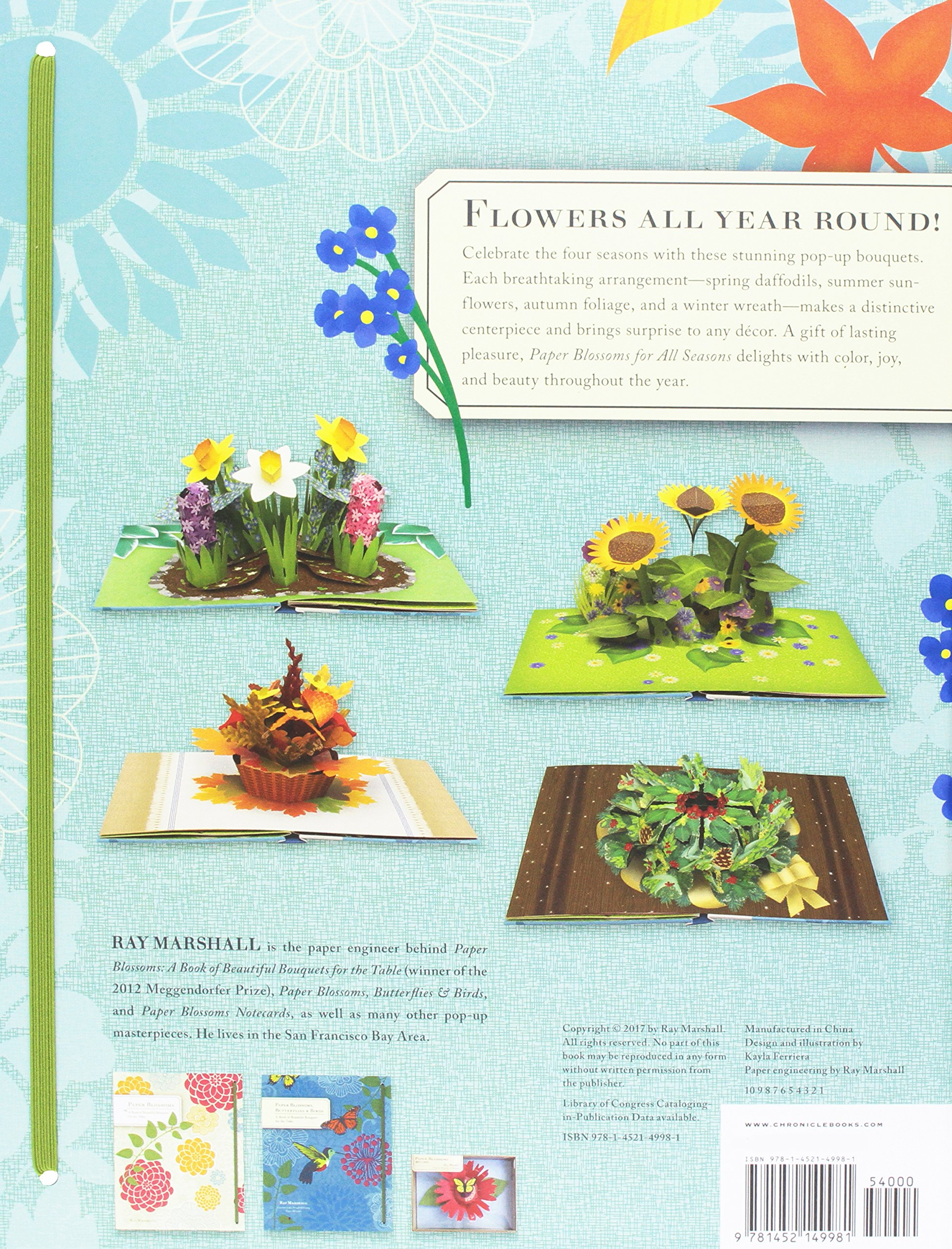 Paper Blossoms For All Seasons A Book Of Beautiful Bouquets For The