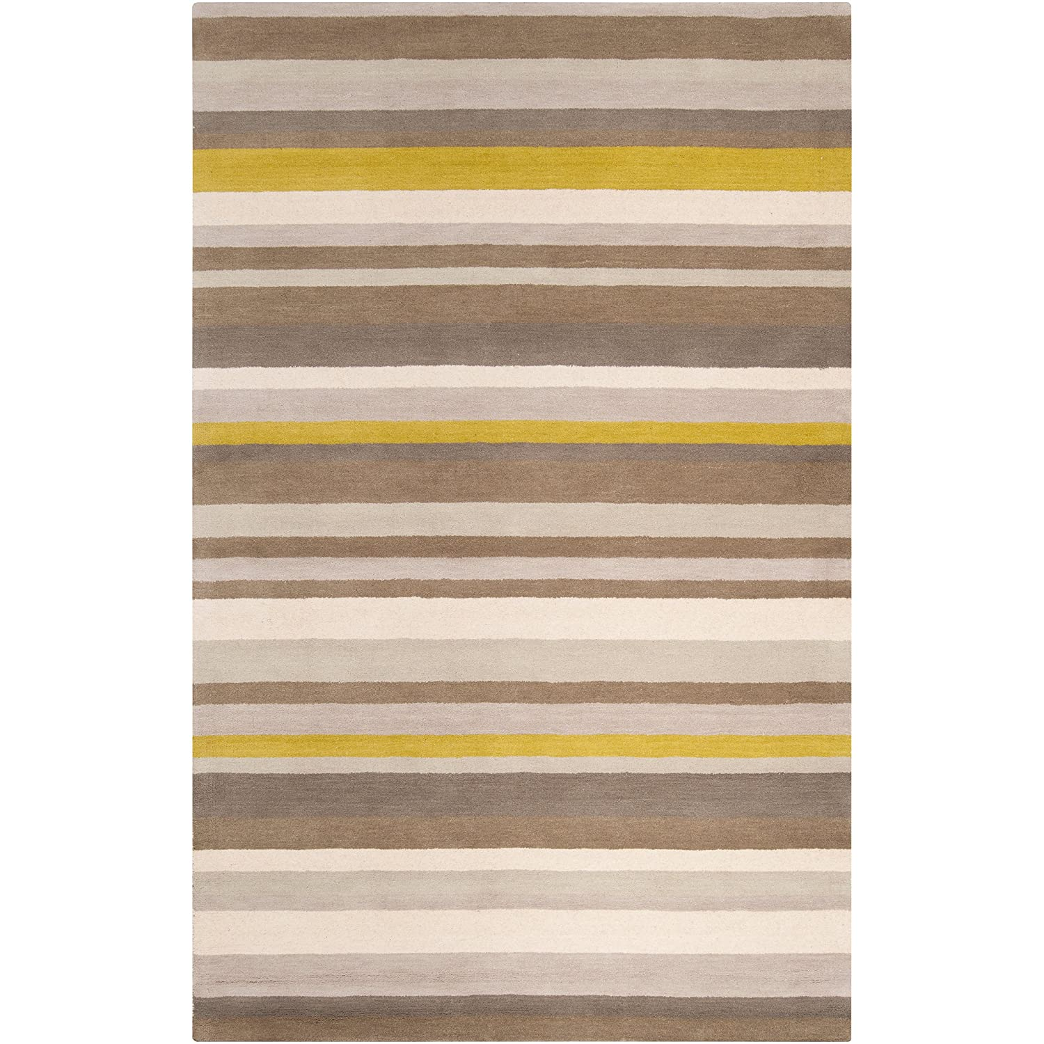 Attractive 10 Foot Square Rug Part - 14: Amazon.com: Angelo:HOME By Surya Madison Square MDS-1009 Transitional Hand  Loomed 100% Wool Silver Cloud 8u0027 X 10u0027 Geometric Area Rug: Kitchen U0026 Dining