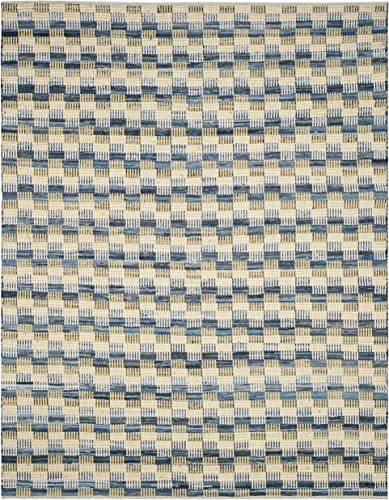Safavieh Montauk Collection MTK121B Handmade Flatweave Gold and Multi Cotton Area Rug 9 x 12