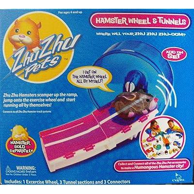 Zhu Zhu Pets Add On Hamster Wheel: Toys & Games