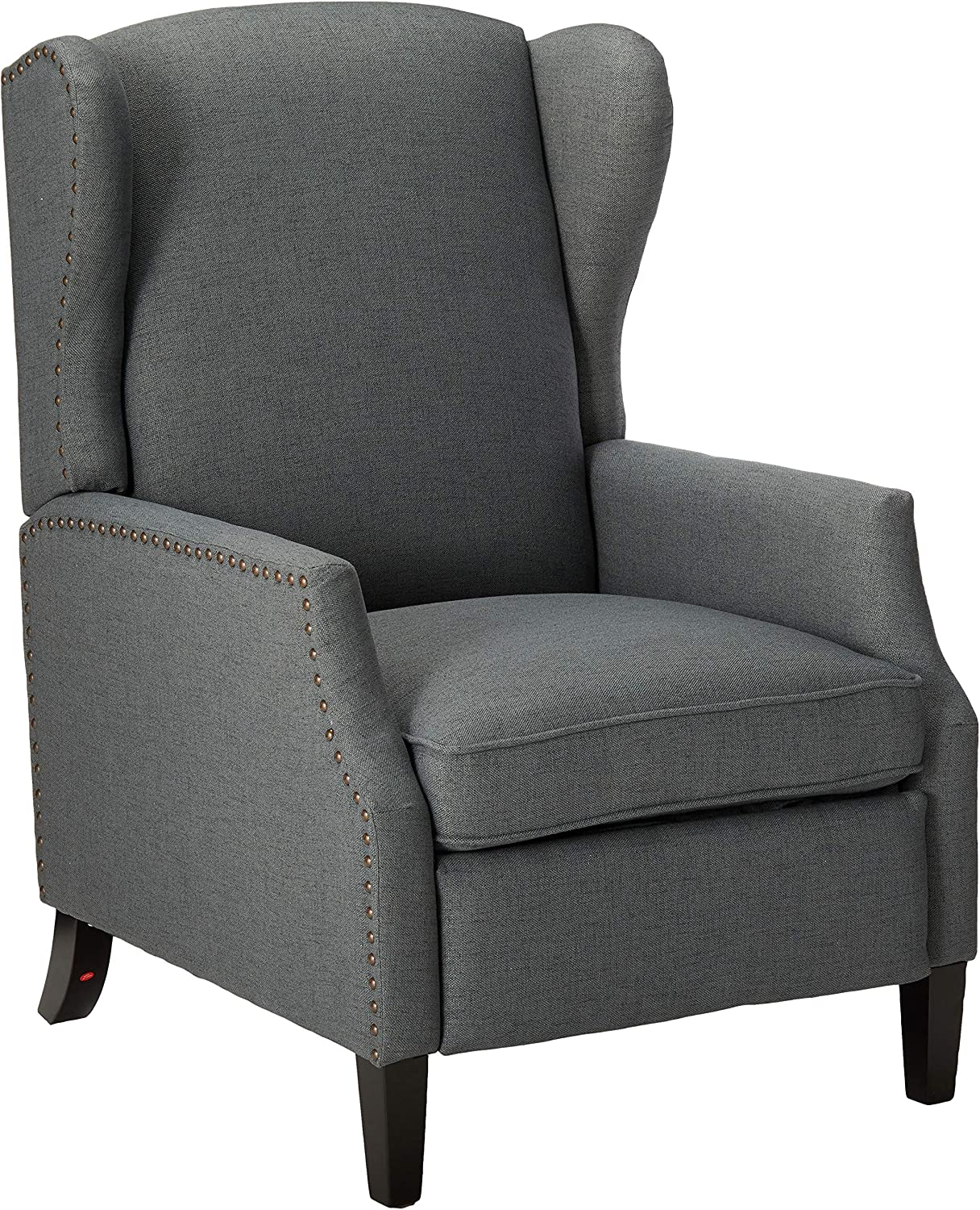 Christopher Knight Home Wescott Traditional Fabric Recliner, Charcoal