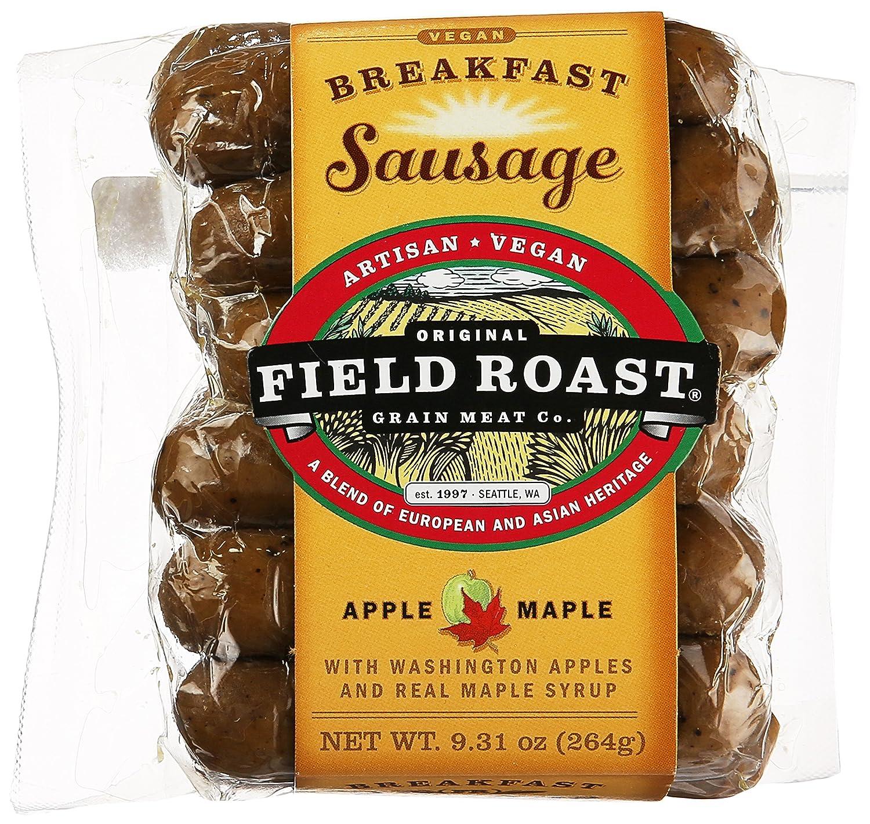 Field Roast, Vegetarian Apple Maple Breakfast Sausage, 9.3 oz (Frozen)