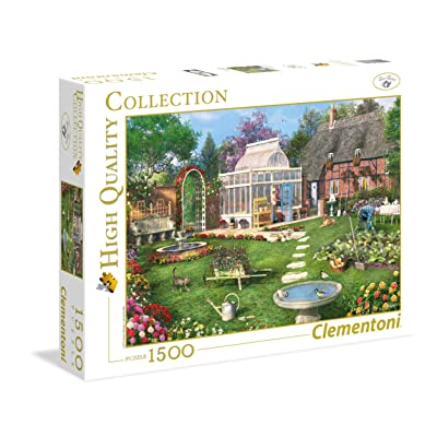 "Clementoni 31671""The Conservatory Collection Puzzle (1500-Piece): Toys & Games"