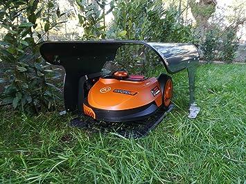 Idea Mower Garage WORX LANDROID S GARAGE: Amazon.es: Bricolaje y ...