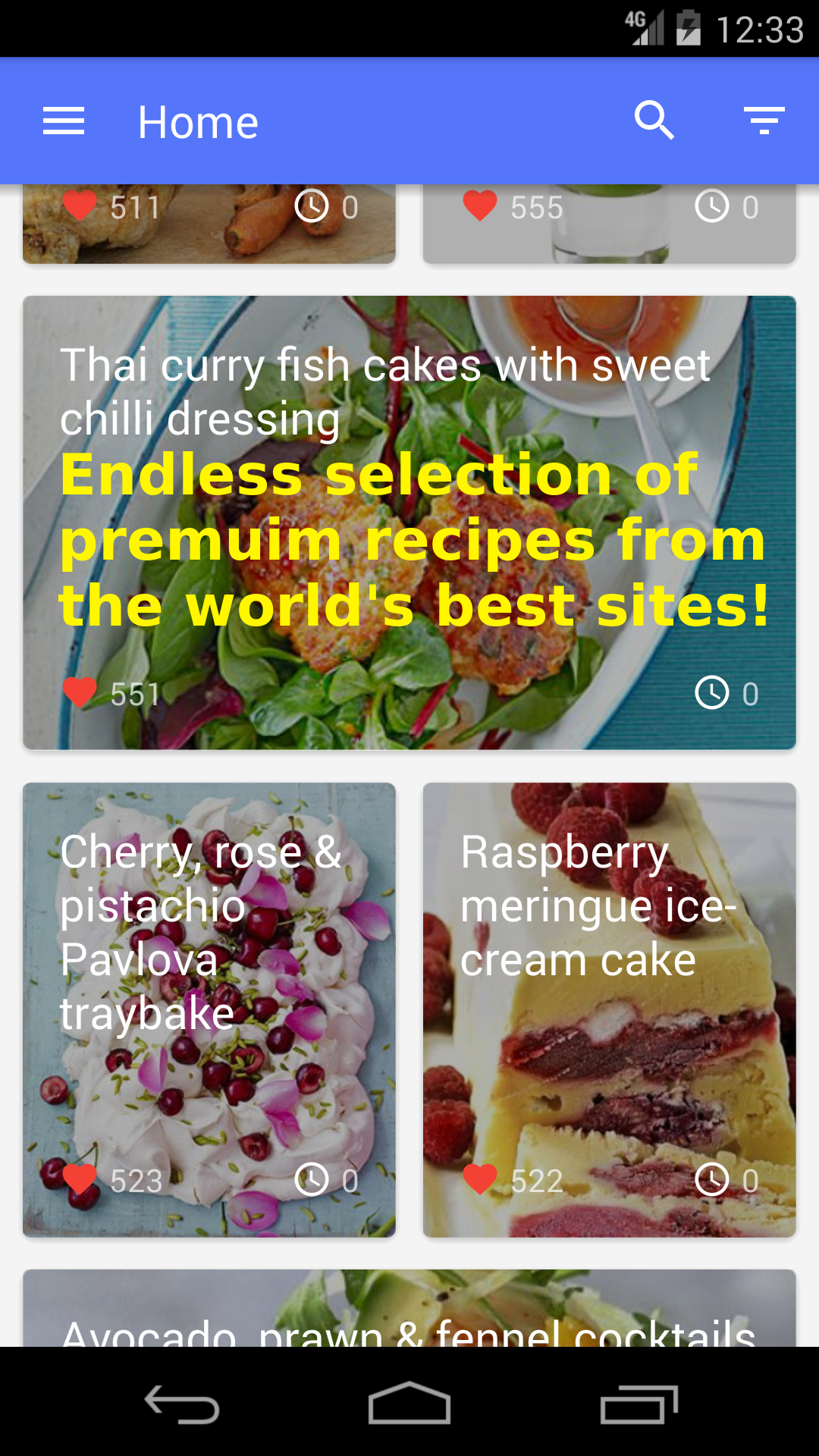 Recipes: a selection of sites