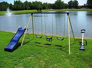 metal swing sets everythingbeauty amazon backyard menards info