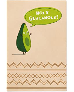 Amazon avocado cards 4 pack of cards each includes a american greetings holy guacamole thinking of you card with foil m4hsunfo