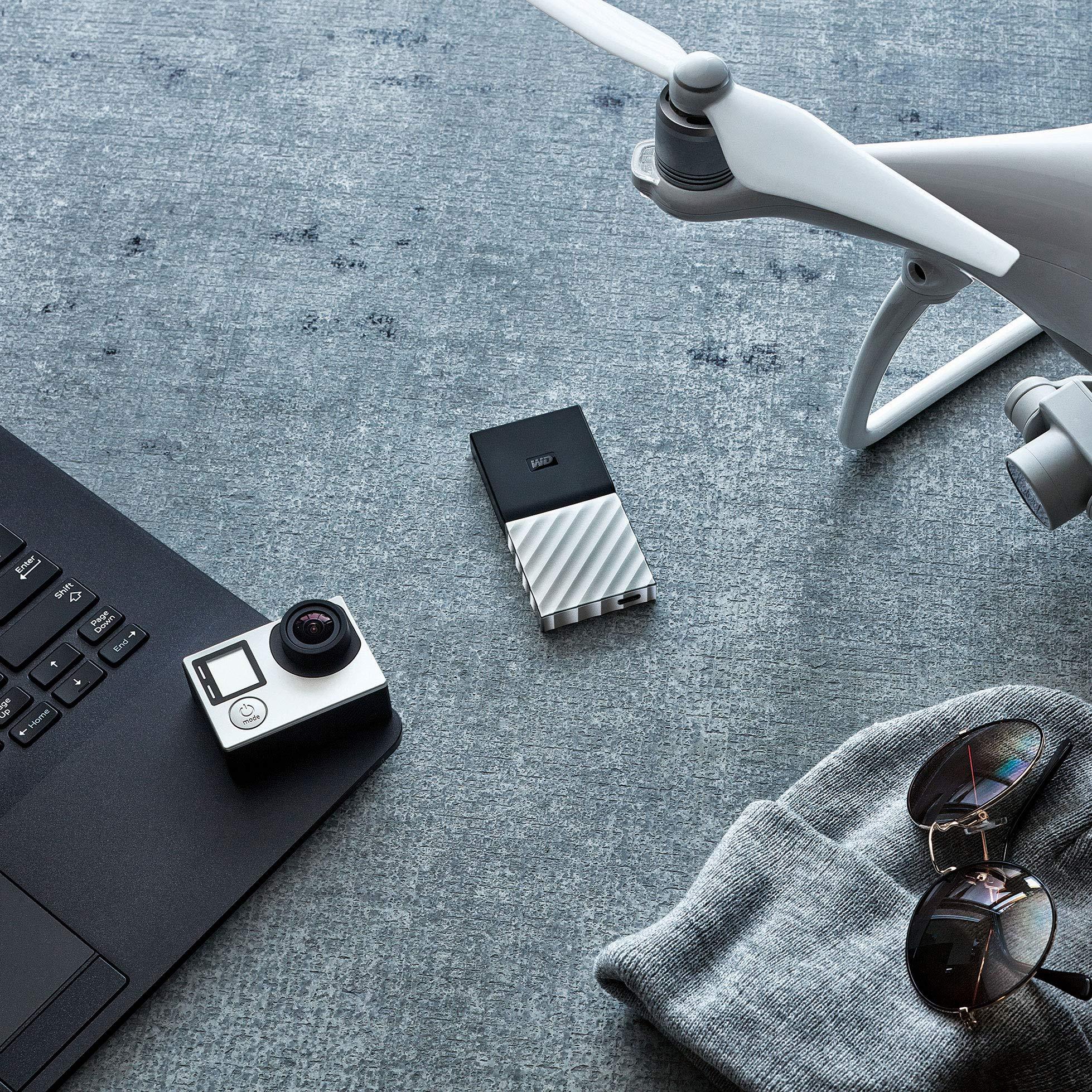 WD 2TB My Passport SSD Portable Storage - USB 3.1 - Black-Gray - WDBKVX0020PSL-WESN by Western Digital (Image #8)