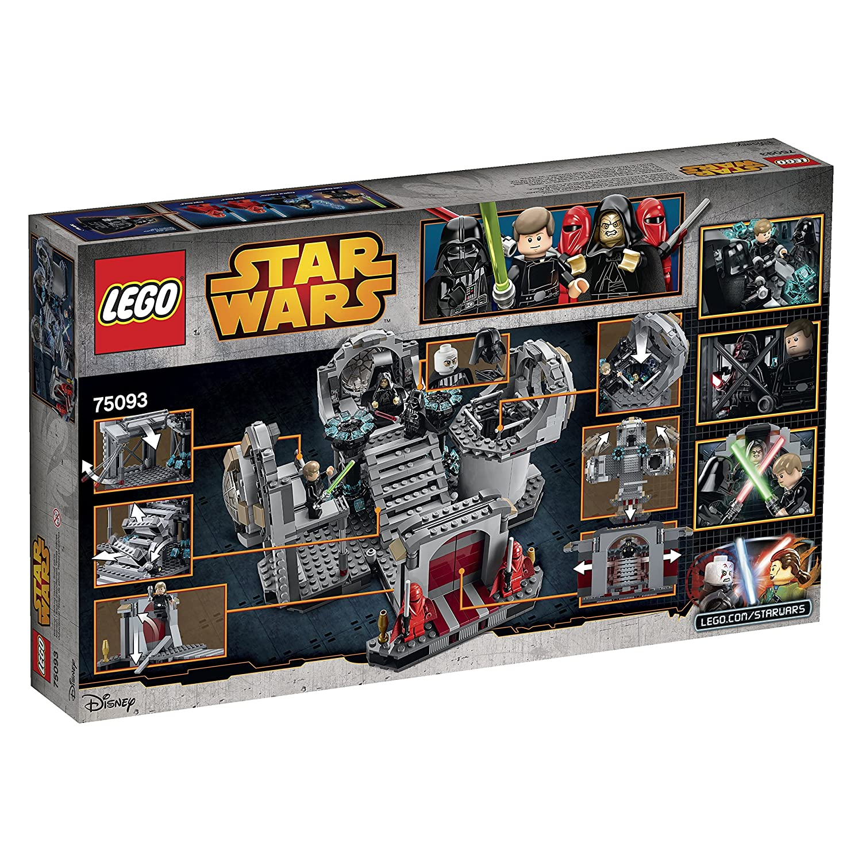 Amazon Lego Star Wars Death Star Final Duel 75093 Building Kit