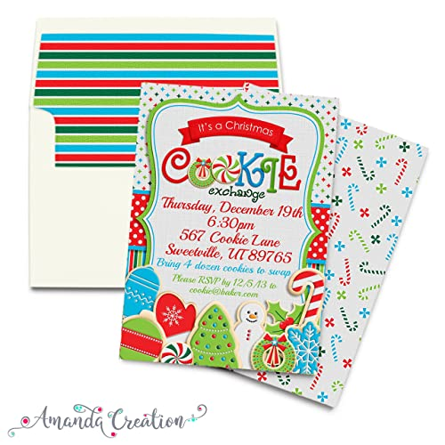 christmas cookie exchange party invitation - Christmas Cookie Exchange Party