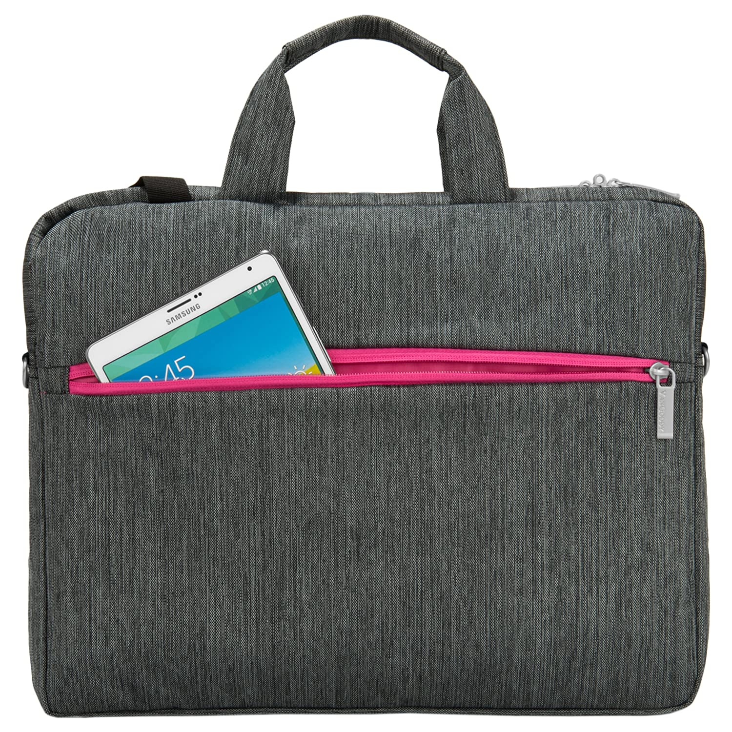 Amazon.com: Wave Laptop Briefcase Sleeve Carrying Bag for 15 ...