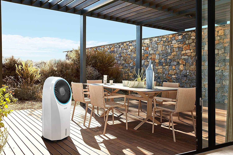 DELONGHI America Refrigerador portátil por evaporación, Color Blanco: Amazon.es: Hogar