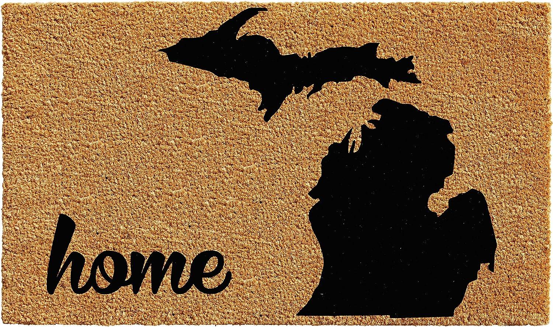 Home & More 102912436 Michigan Doormat 24