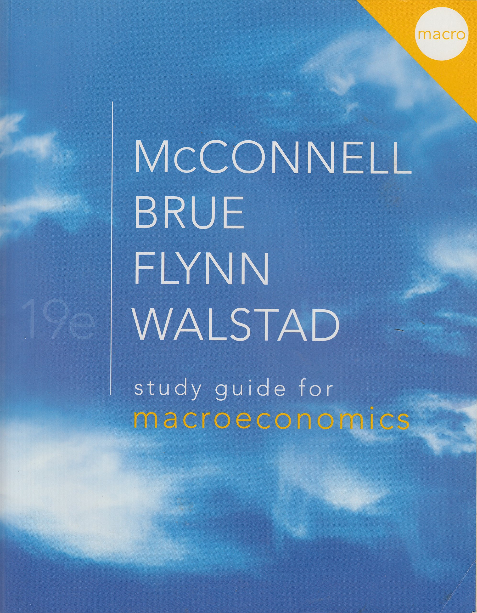 Study Guide for Macroeconomics (19th Edition) ebook