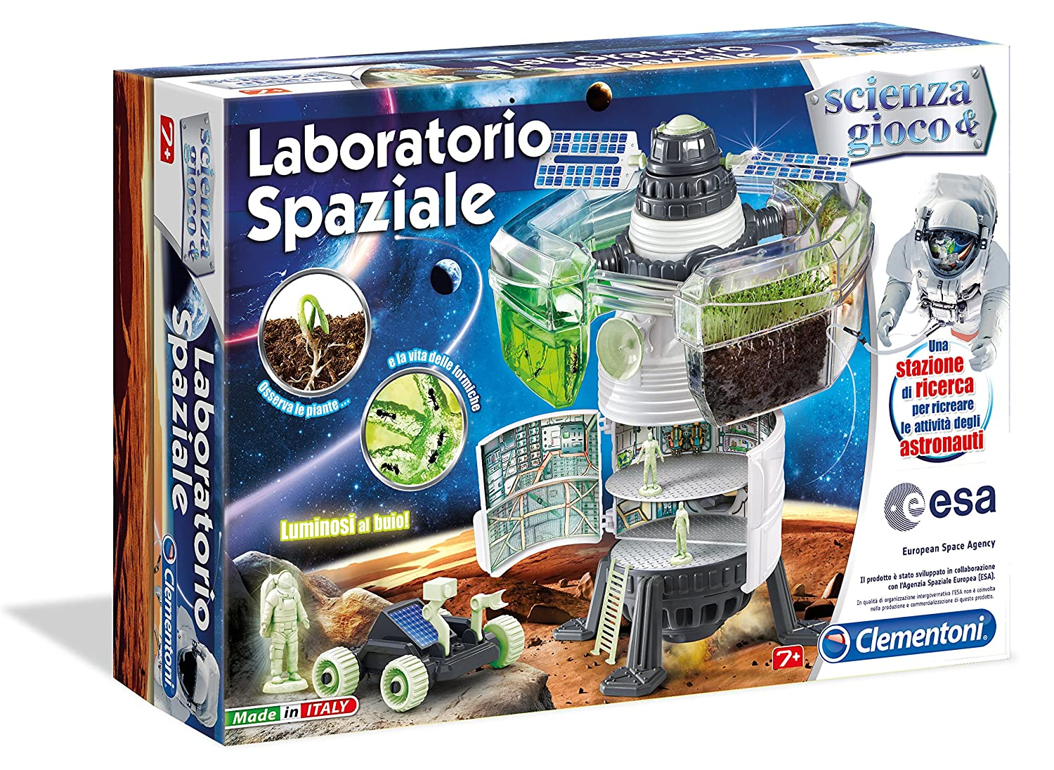 Favorito Clementoni 13917 - Laboratorio Spaziale: Amazon.it: Giochi e  WM34