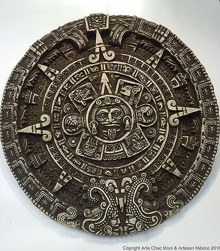 Calendario Azteca Piedra Del Sol Amazoncouk Handmade