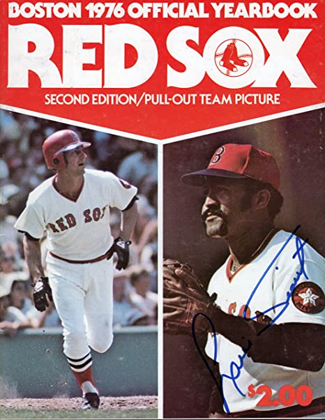 459e000ba Louie Tiant Autographed 1976 Boston Red Sox Yearbook at Amazon's Sports  Collectibles Store