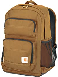 06c1ec59c25 Carhartt Legacy Standard Work Backpack with Padded Laptop Sleeve and Tablet  Storage, Carhartt Brown
