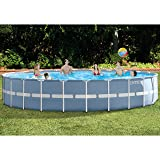 Intex 24ft X 52in Prism Frame Pool Set with