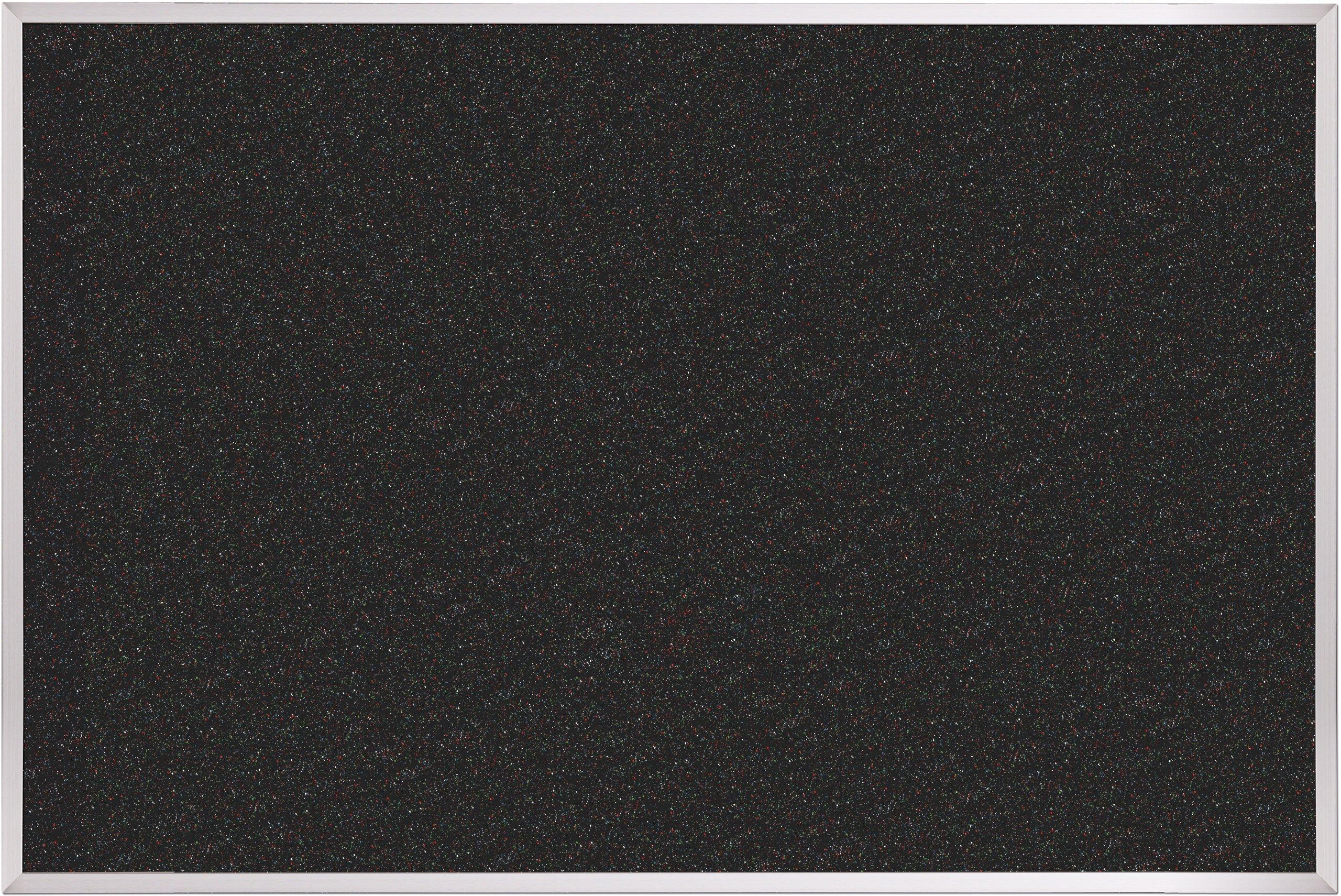 Best-Rite ReTire Rubber-Tak Tackboard, Aluminum Trim, 4 x 8 Feet (320AH-105)