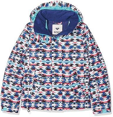 Roxy ERGTJ03011-WBB3_8/S, Chaqueta de nieve Para Niñas