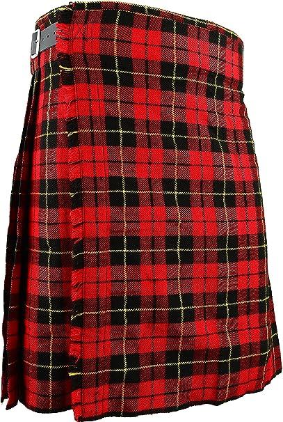 Schottischer Kilt Klassischer Rock Kleid Highland Wallace Bekleidung