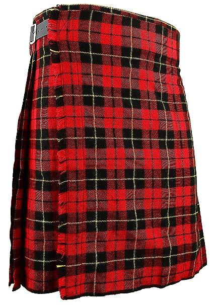 58b9ec9e7a Para falda escocesa Wallace tradicional escocés de cuadros escoceses todos  los tamaños  Amazon.es  Ropa y accesorios